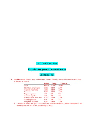 accounting assignment week 5 Click the button below to add the acg 3341 cost accounting week 5 individual assignment answer to your wish list.