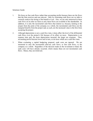 Fin 370 week 3 learning team assignment essay