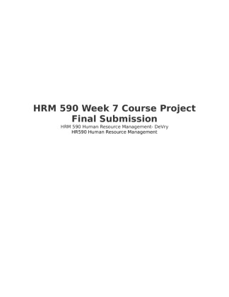 hrm 600 course project In philanthropy and development ms in project management ms in  project management (online) ma in public administration  required human  resource management courses: 24 cr  online hrm students may also take 3  1-credit mba500 level special topics courses gm600 management principles ( 3 cr.
