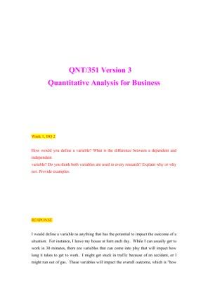 qnt 351 week 2
