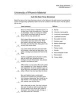 Cja 354 week two worksheet