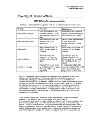 mgt 311 team management plan Free essays on mgt 311 team strategy plan for students use our papers to help you with yours 1 - 30.