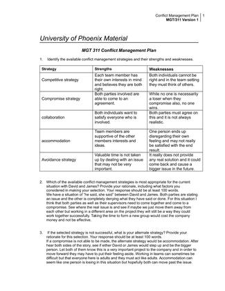 mgt 311 university of phoenix