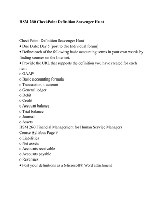 GEN 201 Week 1 Student Resources Worksheet