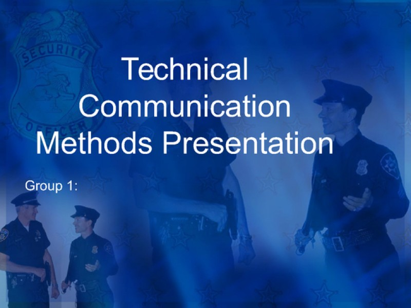 technical communication methods and practices Learning team assignment technical communication methods and practices paper and presentation.