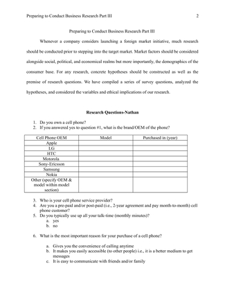 preparing to conduct business research 5 essay Nursing admission essay nursing research proposal  nursing assignment nursing research paper nursing coursework  preparing to conduct business research .