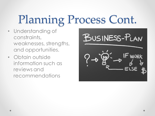 bp planning functions of management relates to organization goals and strategy This is long-term planning that involves all the organization's management areas and  the objectives and goals the plan  planning process is directly related .