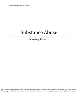 hca 250 substance abuse paper Issuu is a digital publishing platform that makes it simple to publish magazines, catalogs, newspapers, books, and more online easily share your publications and get them in front of issuu's.
