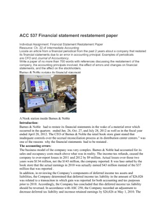 acc 537 financial accounting