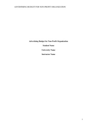 research paper on non profit organizations Funding of non-profit organizations starkisha r daniels bus 600 mr ziegler october 1, 2010 funding of non-profit organizations introduction there are.