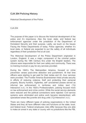 CJA 204 juvenile Crime paper Essay