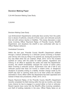 academic essay /criminal justice Criminal justice choose a local, county, or state agency, and write a paper addressing the following topics: how are the criminal data at the selected department.