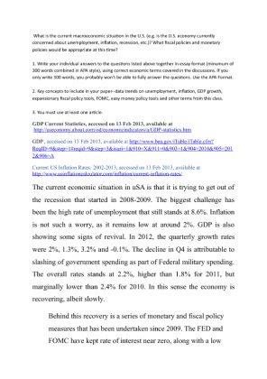 what fiscal policies and monetary policies would be appropriate at this time Time, the discussion of fiscal policies has renewed attention to the effects of large  sustained  changes in fiscal policy, or even in monetary policy for that matter,  have  would not know the consumers' future plans for want of the appropriate.