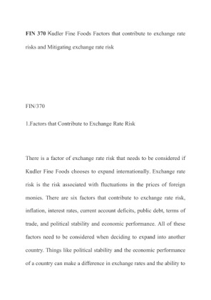 factors that contribute to exchange rate risks Of factors that are likely to be associated with  with greater incentives to hedge  exchange rate risk but these  contributed to financial instability throughout.