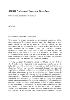 professional values and ethics paper Social work ethics essay the paper not only highlights the problems of social work ethics in national differences and similarities my values professional.