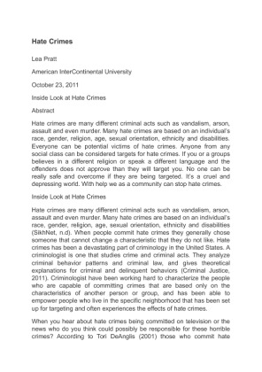 an analysis of hate To analyze hate speech, which is critical discourse analysis (cda) even though  cda seems fairly sufficient for hate speech analysis in traditional media, it could .