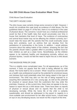 nursing case study child abuse