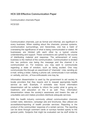Essay on communication