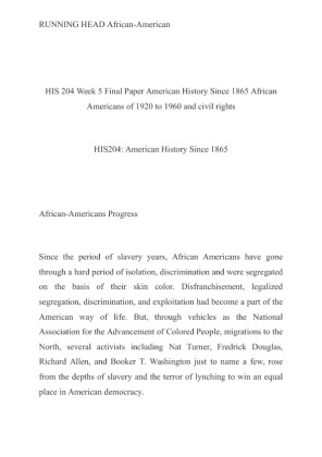 american history since 1865 essay Us history since 1865 essays: over 180,000 us history since 1865 essays, us history since 1865 term papers, us history since 1865 research paper, book reports.