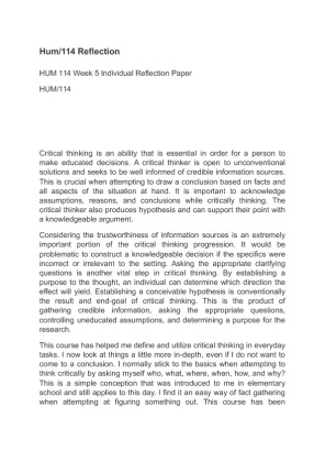 how to write an essay introduction about individual reflection paper iirp tips on writing reflection papers a reflection paper is not a summary of the course readings or a stream of conscious mind dump on paper