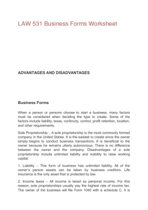 """law 531 2013 forms business worksheet advantage disadvantage The advantages and disadvantages of franchi s ing  point list"""" of the advantages and disadvantages (both business and legal) of moving to a franchised system of ."""