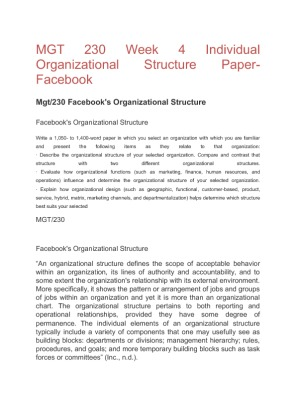 organization of the thesis report