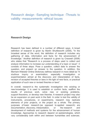 research for design technique Research design can be daunting for all types of researchers at its heart it might be described as a formalized approach toward problem solving, thinking, a.