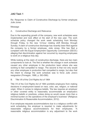 Wgu jft2 task 1 essay example | College paper Example