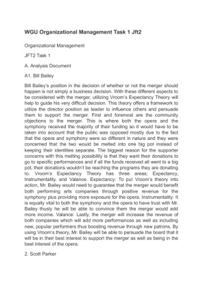 organizational development essay