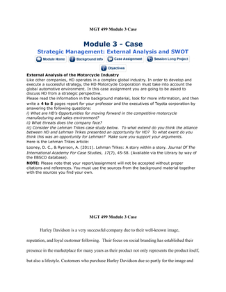tui mgt 499 module 1 case Here is the best resource for homework help with mgt 501 : business at trident university international  case 4 mgt 5 pages module 4 slp  mgt501 module 1.