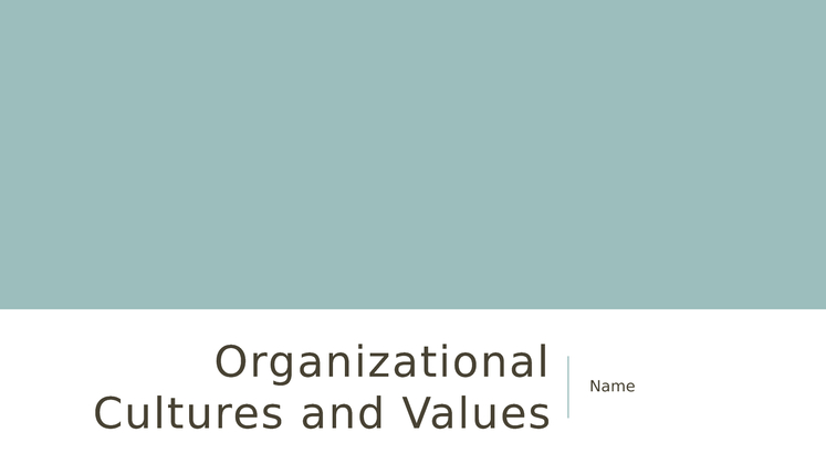 nurse s personal and organizational values alignment Organizational values presentation (benchmark assessment) describe how alignment between the values of an organization and the values of the nurse impact nurse engagement and patient outcomes discuss how an individual can use effective communication techniques to overcome workplace challenges, encourage collaboration across groups, and promote.