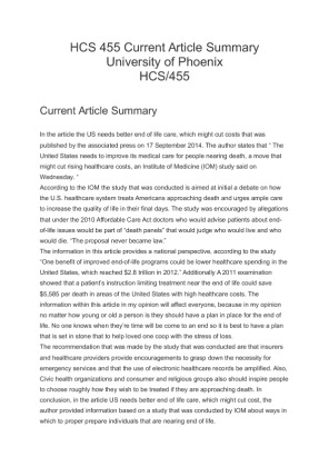hcs 455 policy issue worksheet essay Hcs 455 - policy process - part 1 - health care reform - week 3docx  hca240  r4 appendix e diabetes worksheet[1]  bad feminist: essays  because not all  issues reach the government, organization, planning, and the proper support.