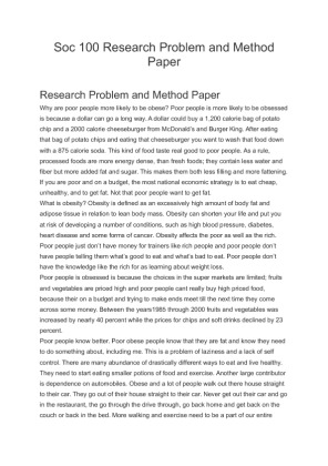 research problem and method paper A guide to writing scientific papers scientific experiments are demanding, exciting endeavors, but, to have an impact, results must be communicated to others a research paper is a method of communication, an attempt to tell others about some specific data that you have gathered and what you think those data mean in the context of your research.
