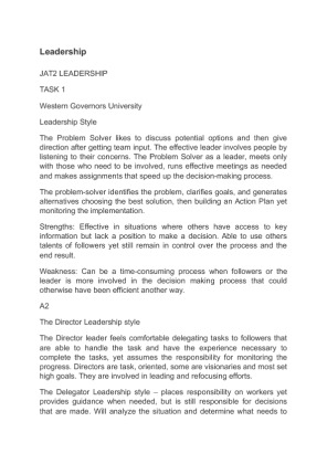 ethics in leadership essay Free essay on leadership available totally free at echeatcom, the largest free essay community.