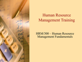 HRM 560 Assignment 1 Effective Management of Change