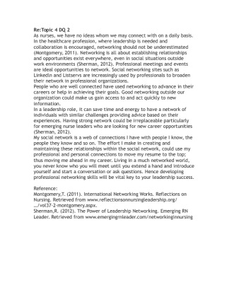 re re topic 2 dq 2 Re:topic 2 dq 1the following is an excerpt from an academic journal discussing the use of humor while counselling children the conclusions are based on a case.