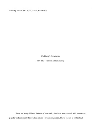 final fopr psy 330 Here is the best resource for homework help with psy 330 : theories of personality at ashford university find psy330 study guides, notes, and practice tests.