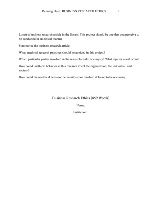 unethical business research convictions articles
