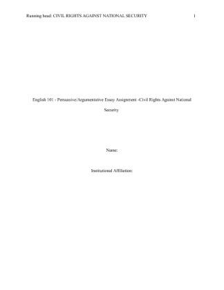 english 101 persuasive essay assignment