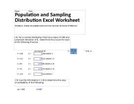 hlt 362v week 2 population and sampling distribution excel worksheet dgoodz. Black Bedroom Furniture Sets. Home Design Ideas