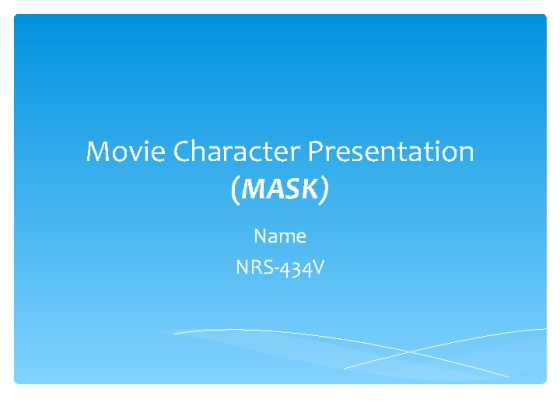 mask the movie presentation Going to the movies in 2016 can be a frustrating situation  the feature  presentation (which in this case would be scope), you've seen screen  large- format screens) have the curtains they need to properly mask these movies.